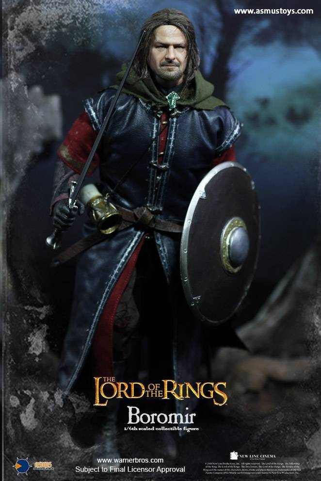Asmus Collectible Collectible Collectible Toys Lord of the Rings BOROMIR 12