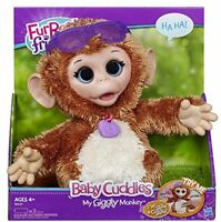 Monkey Pet Plush, Stuffed Toy Interactive Pets Fur Electronics Kids Gifts on sale