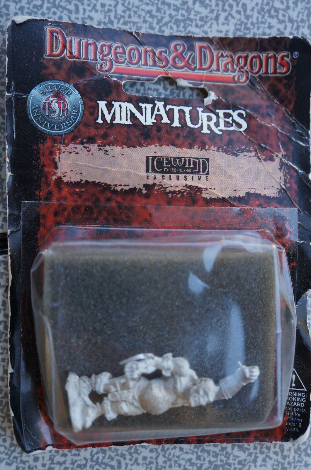 Icewind Dale Collector's Item Pewter Cyclops Mini ULTRA RARE from Interplay
