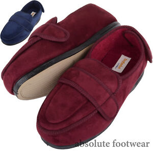 1b733adf78c Details about Ladies / Womens Orthopaedic / EEE Wide Fit Slippers / Boot  with Adjustable Strap