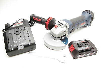 Bosch GWS18V-45-RT 18V Li-Ion 4-1//2 in Angle Grinder Bare Tool Reconditioned