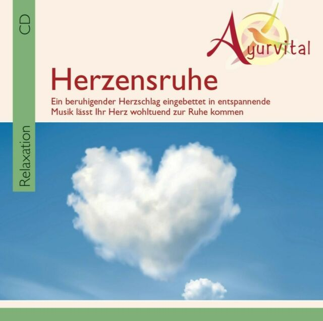 Ayurvital-herzensruhe (un encourageante du rythme cardiaque) - Jones, Davy CD NEUF
