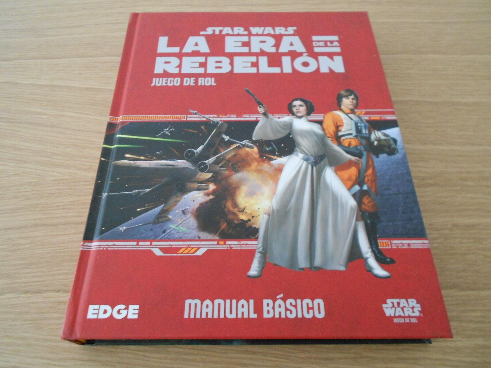 Estrella WARS LA ERA DE LA REBELION - Básico - juego de rol - EDGE - FF