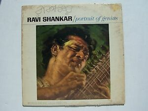 Ravi Shankar - Portrait Of Genius Vinyl LP Record Album
