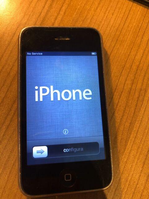Apple iPhone 3 G - 16 Go-Noir