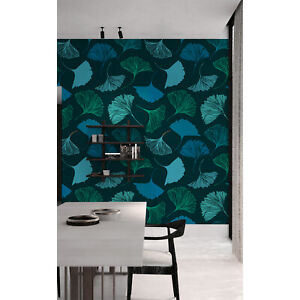 Geometry-Leaves-Wall-Covering-Removable-Wallpaper-Self-Adhesive-Peel-amp-Stick