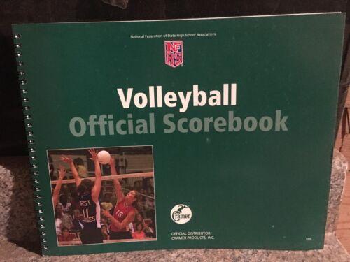 Cramer Volleyball Scorebook    NFHS    BRAND NEW