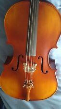 Deluxe 3/4 Cello RRP £429.00 Hand carved Canadian Spruce Top