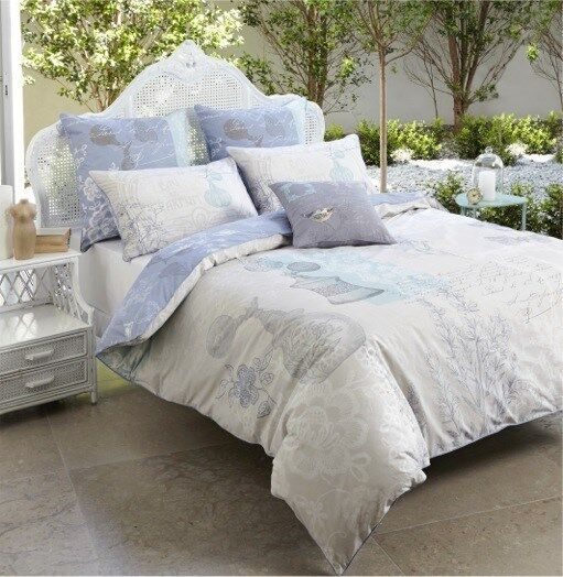Bed Doona Duvet Quilt Cover Set King 100% Cotton Original Price  89