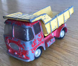 Vintage Corgi Toys ERF Model 64G Earth Dumper Tipper Truck For Restoration
