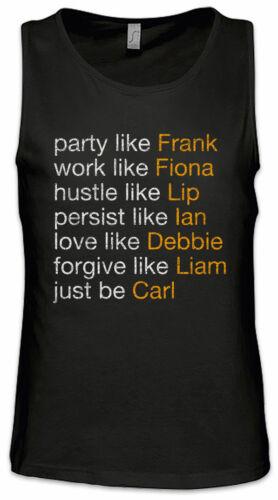 Act Like Gallagher Herren Tank Top Ian Lip Ian Frank Fiona Carl Shameless Fun