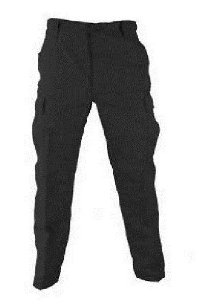 US Propper Armée Bdu Militaire Pantalon Pantalon Terrain noir Medium Long