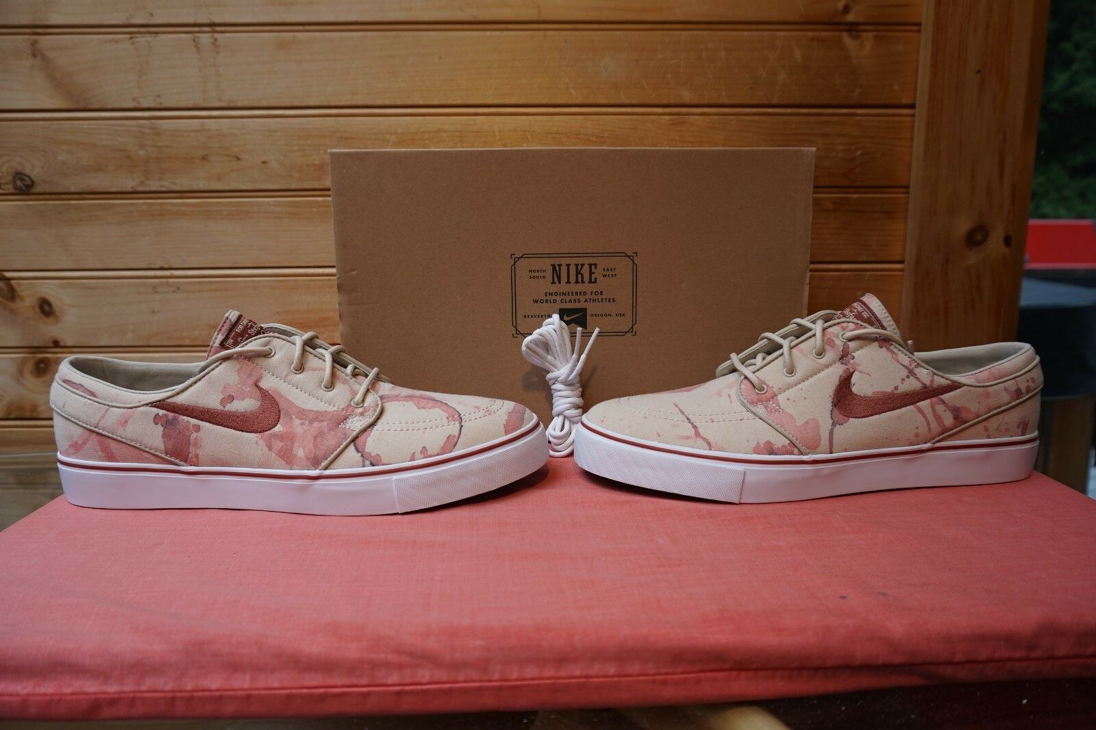 2018 Nike Zoom Stefan Janoski SB Blood Splatter Sz 10.5 Price reduction 333824-102 The most popular shoes for men and women