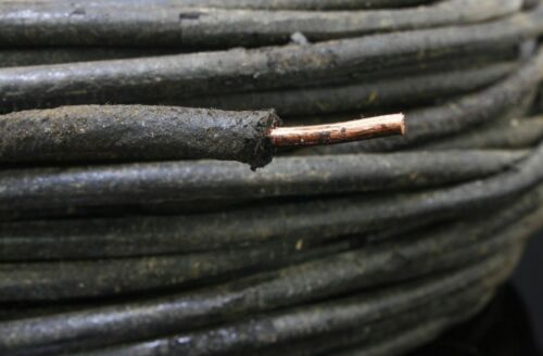 S150 NOS Western Electric 12GA wax single copper wire  3meter