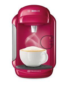 Bosch-TAS1401-Tassimo-Vivy-2-Multibeam-Coffee-Maker-1300W-Fuchsia-Capsules-NEW