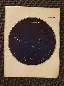 Aquarius-amp-Capricornus-Star-Constellations-Book-Print-c-1915
