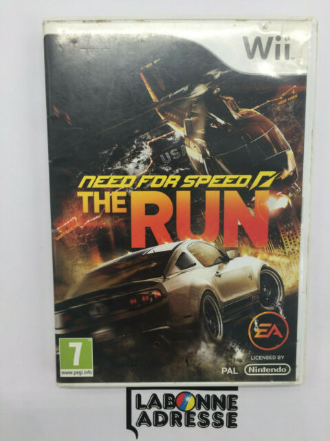 WII JEU VIDEO NEED FOR SPEED THE RUN - VERSION FRANCAISE - SANS NOTICE - NINTEND