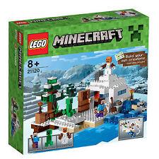 LEGO® Minecraft 21120 Das Versteck im Schnee NEU & OVP The Snow Hideout NEW