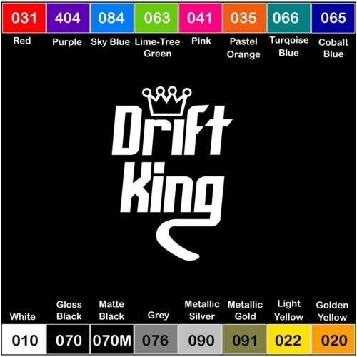 Drift King V2 Vinyl Decal Sticker Window Illest clean stance hella jdm