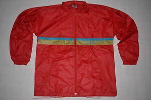 Details zu Adidas Regen Jacke Rain Jacket Windbreaker Coat Vintage Nylon D 44 ca. S M NEU