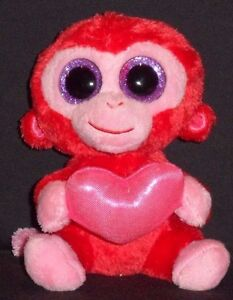 "TY BEANIE BOOS BOO/'S CHARMING the 6/"" MONKEY NO HANG TAG"