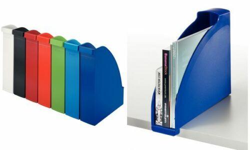 DIN A4 Polystyrol LEITZ Stehsammler Plus hellblau