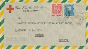 Brazil-1956-Airmail-cover-from-the-Brazilian-red-cross-to-the-en-interne-RED-CROSS