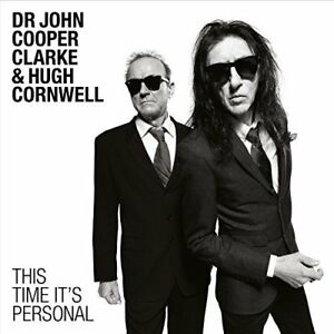 Dr-John-Cooper-Clarke-amp-Hugh-Cornwell-This-Time-It-039-s-Personal-2016-CD-NEW