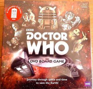 Doctor Who DVD BOARD GAME festeggiare 50th anni (USA NTSC REGIONE 0) Nuovo e Sigillato