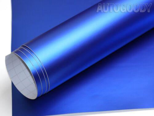 Premium Satin Matte Chrome Metallic Vinyl Film Car Wrap Sticker Air Bubble Free