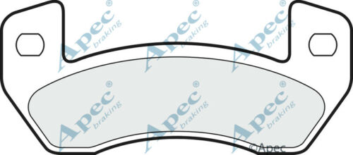Car Brake Pads PAD1497 GENUINE APEC REAR BRAKE PADS FOR MICROCAR ...