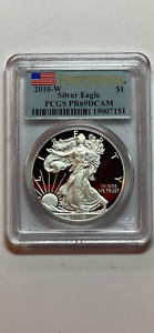 2010-W-American-Silver-Eagle-Proof-PCGS-PR69-DCAM-First-Strike-CHEAPEST-ON-EBAY