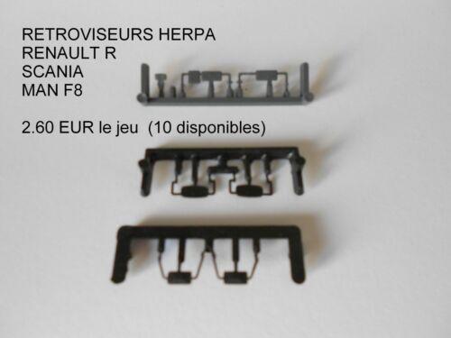 HO 1//87 HERPA ALBEDO LOT DE RETROS SCANIA RENAULT MAN F8