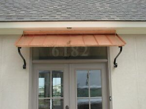 Image Is Loading 8 Ft Copper Window Or Door Awning With