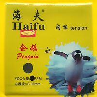 HaiFu penguin Medium Pips-out Table Tennis Rubber NEW black
