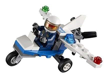 Lego City, 30018 Police Plane