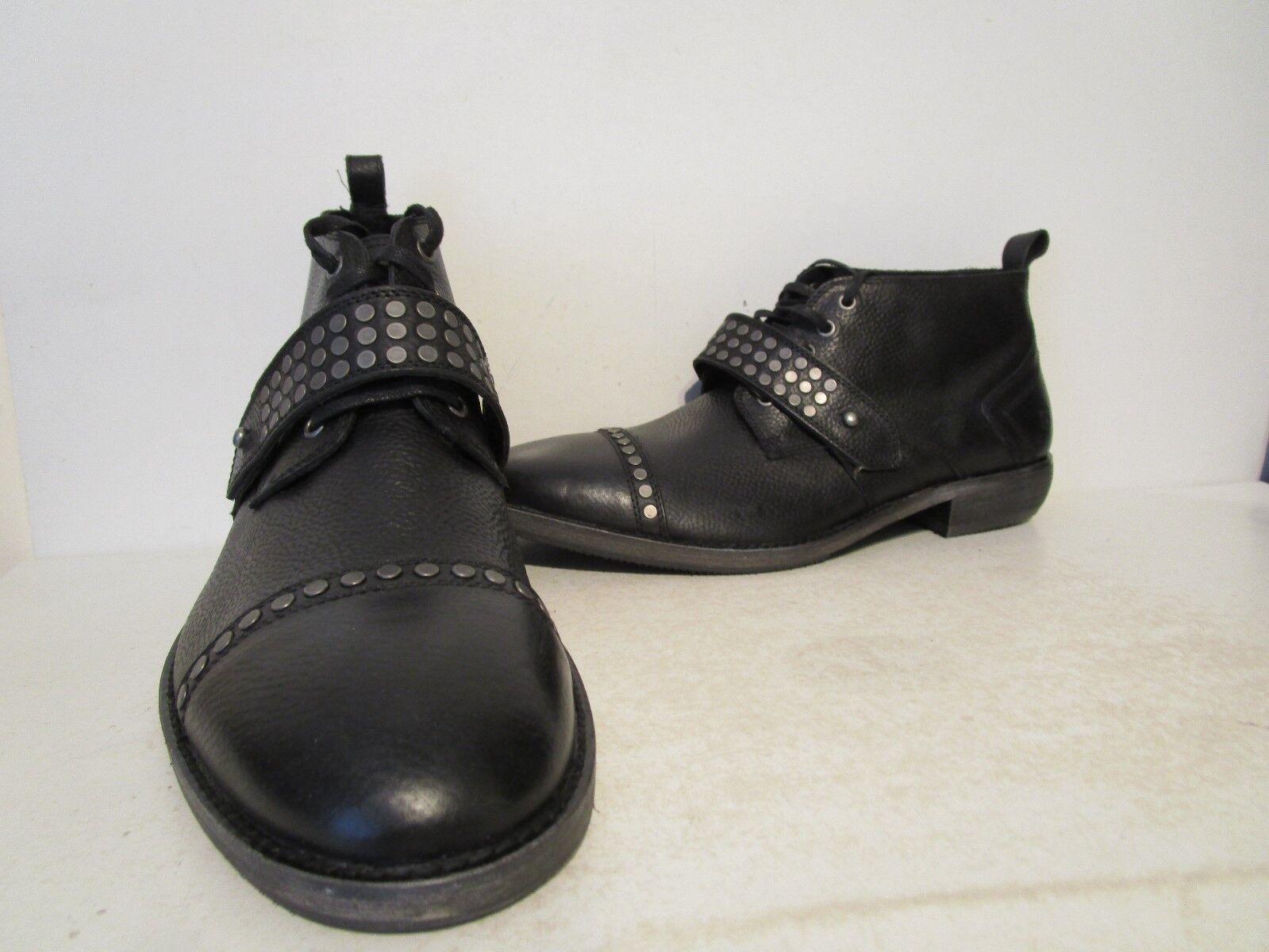 Vestido Casual Andrew Marc para hombre Willets Chukka botas Asfalto Natl Negro