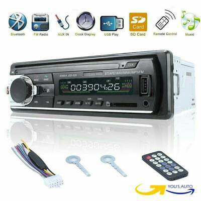 STEREO AUTO BLUETOOTH AUTORADIO VIVAVOCE RADIO FM MP3 USB AUX SD CARD 60Wx4 1din