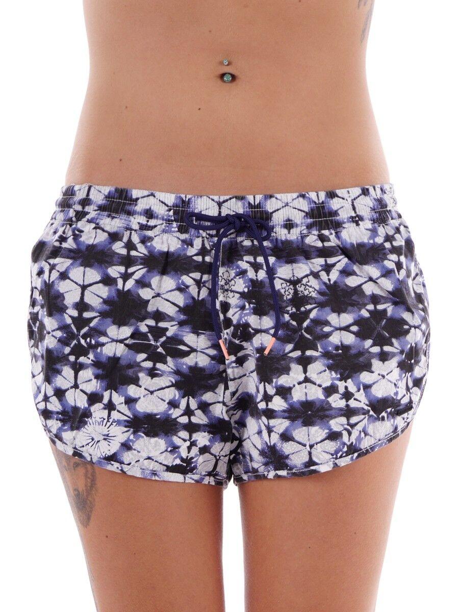 Brunotti Boardshort Summer Trousers Beach blue pattern Gareda Drawstring