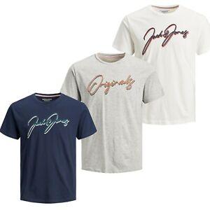 Jack-amp-Jones-Mens-Short-Sleeve-T-Shirt-Casual-Crew-Neck-Tee-Tops-S-M-L-XL-2XL