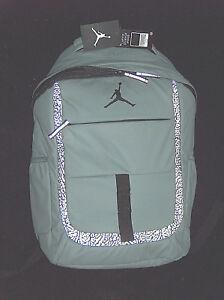NWT  65 Nike Air Jordan Jumpman Gray Reflective Laptop School Bag ... 44e2753942836