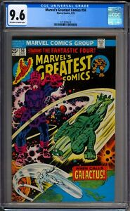 Marvel-039-s-Greatest-Comics-56-CGC-Graded-9-6-NM-Marvel-Comics-1975