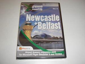 Details about Xtreme Airports NEWCASTLE + BELFAST Pc Add-On Flight  Simulator X 2004 FSX NEW