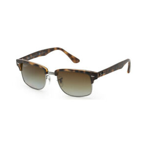 Ray Ban Clubmaster RB4190 878/M2 52 Sunglasses Tortoise / Brown Lens