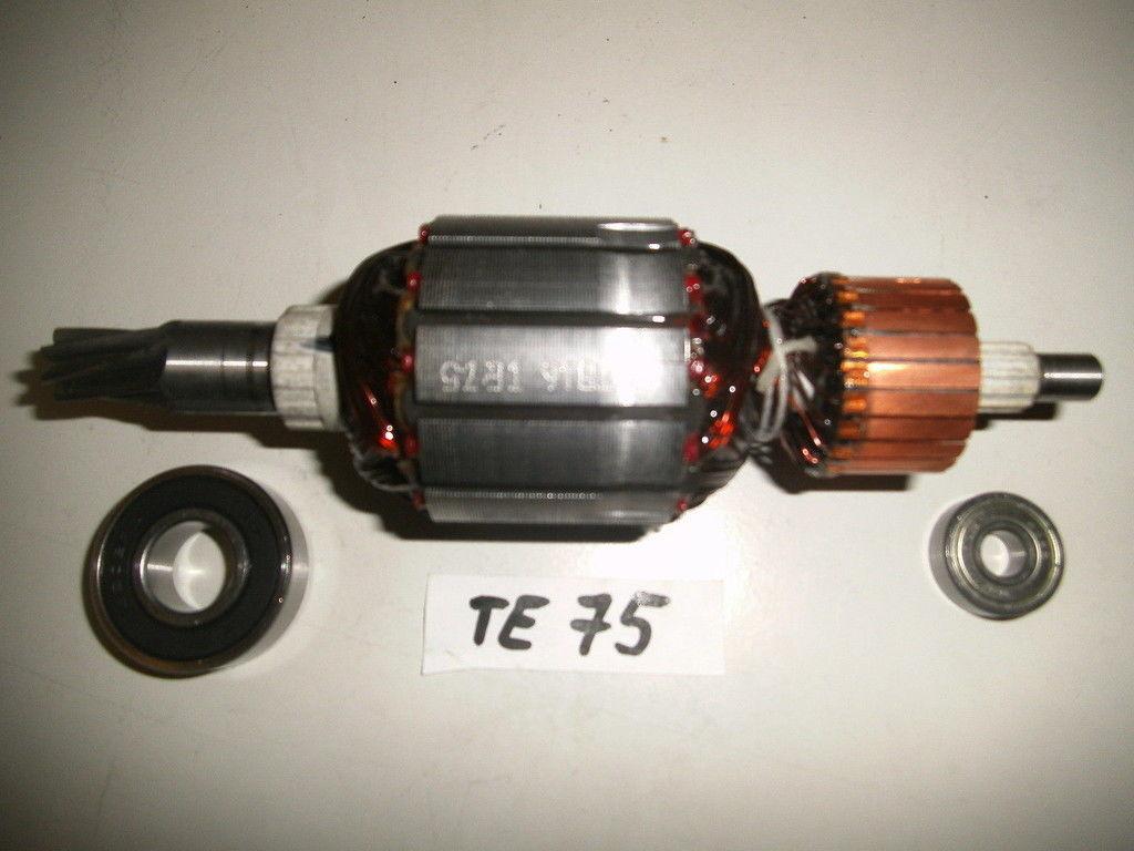 Hilti TE 75 Rotor, Anker mit beiden Lagern vom Rotor