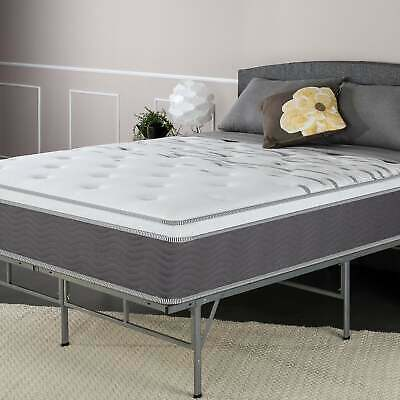 Priage by Zinus 12 Inch Extra Firm Pocketed Coil Mattress ...