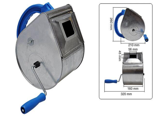 Putzhexe Spritzputz verzinkt 210mm Putz Putzwerfer Putzmaschine Handspritzgerät