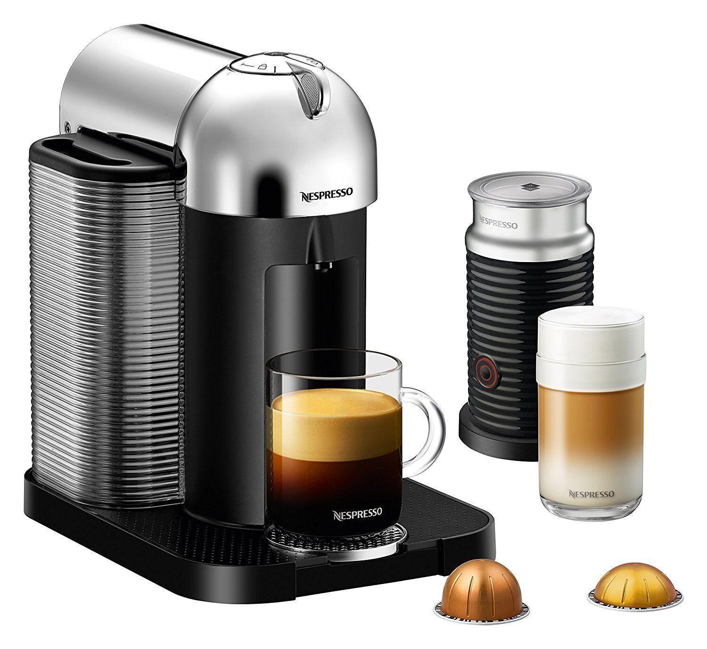 Nespresso greenuoLine Coffee and Espresso Maker Bundle by Breville