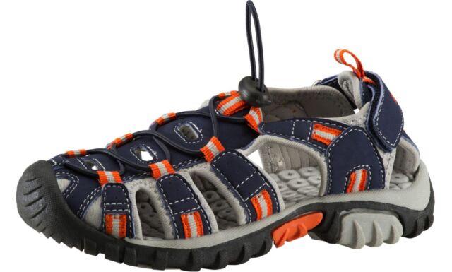 e9c1a6255c5 Mckinley Enfants Sandales de Trekking   Randonnée Vapeur 2 Jr Bleu Gris  Rouge