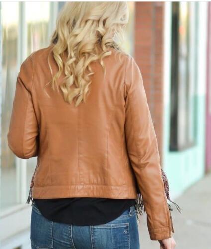 de pour en d'agneau femmes motard Veste cuir véritable femme design pour a6dtw